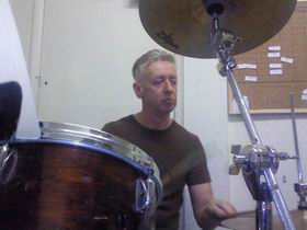 David, drummer of the 'The Voyeurs'
